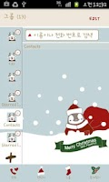 Screenshot of Pepe-christmas Go contacts