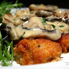 Panko Chicken With Creamy Sauce