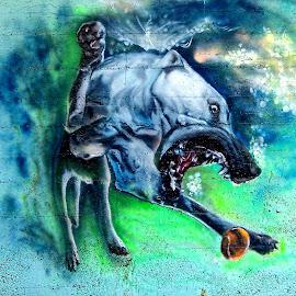 The Beast by Tihomir Beller - Digital Art Animals
