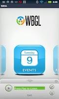 Screenshot of WBGL