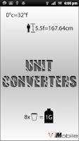 Screenshot of Unit Converters