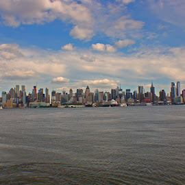 NYC skyline  by Chris Torello - Buildings & Architecture Architectural Detail (  )