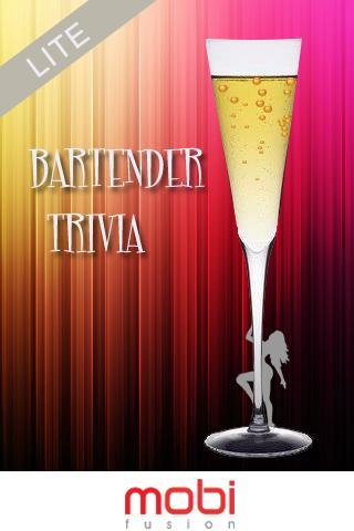 Bartender Trivia Lite