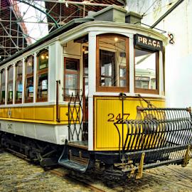 Electric Tram by Antonio Amen - Transportation Other ( tram, electric tram )