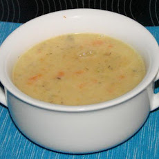 Creamy and Healthy Quick Potato Soup