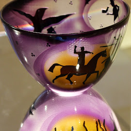 Reflection  by Colette Edwards - Artistic Objects Glass (  )