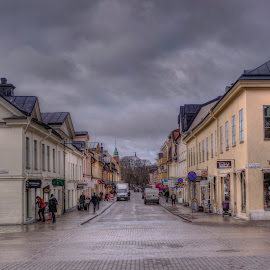 Uppsala by Stratos Lales - City,  Street & Park  Neighborhoods ( clouds, sweden, sky, neighborhood, uppsala )