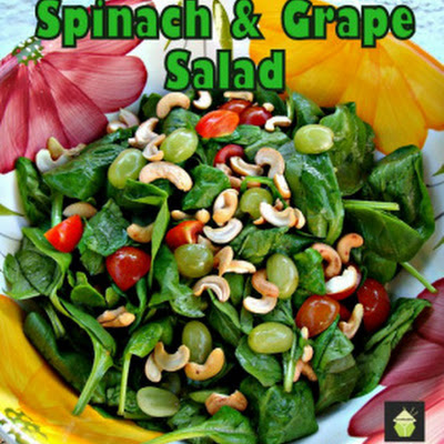 Refreshing Spinach & Grape Salad