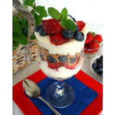 Fruit and Fiber Parfait - Ww Friendly 1 Point