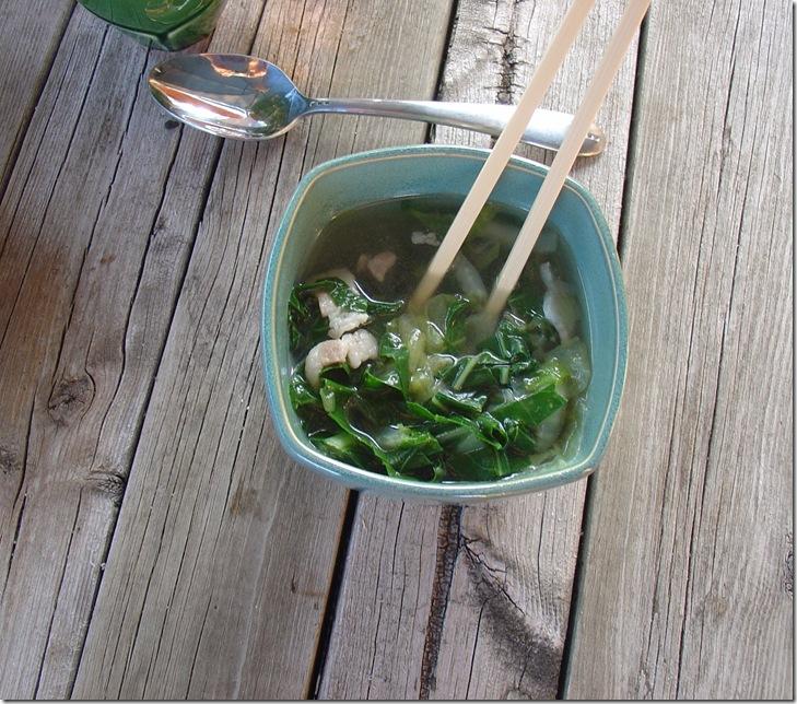 Lettuce Soup - Yummy!