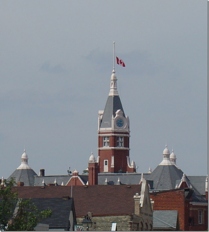 Half-mast Over City Hall