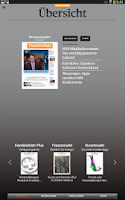 Screenshot of Handelsblatt Live