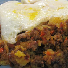Chorizo Hash With Peppers and Paprika