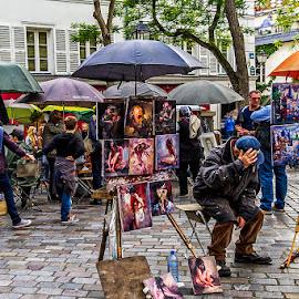 by Adeline Tan - City,  Street & Park  Street Scenes ( market, street, people,  )