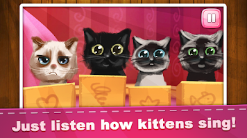 Screenshot of Cats Song