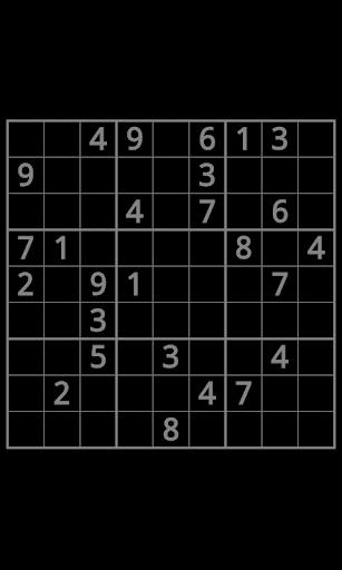 Sudoku In The Dark