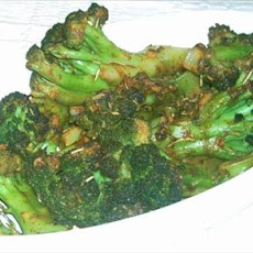 Chili-Garlic Roasted Broccoli