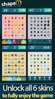 Screenshot of Shape It A Dots Challenge
