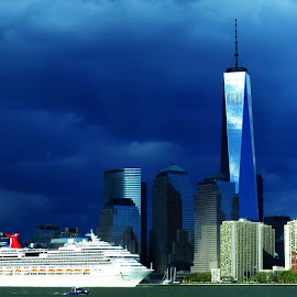 #NewYork #Memories #LibertyIsland by Suyash Mohan - Landscapes Travel