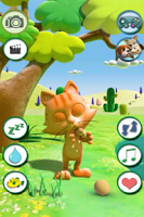 Screenshot of Talking Cat Free
