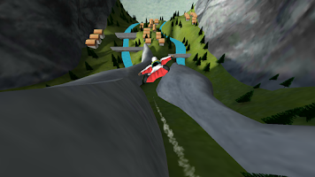 Screenshot of Wingsuit Lite