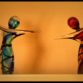 Twist & Shout by Becky McGuire - Artistic Objects Glass ( sweden, mcguire, stockholm, tvlgoddess, art, glass, twist, shout, figurine, becky,  )
