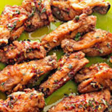 Sweet and Lemony Wings