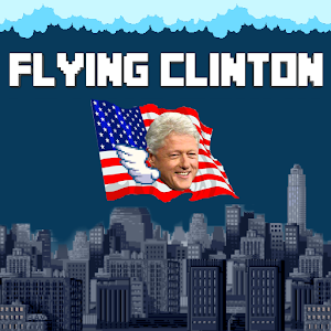Flying Clinton
