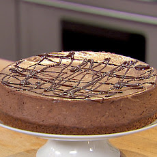 Chocolate Espresso Cheesecake with Ganache