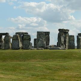 Stonehenge by Deborah Russenberger - Landscapes Caves & Formations ( stonehenge )