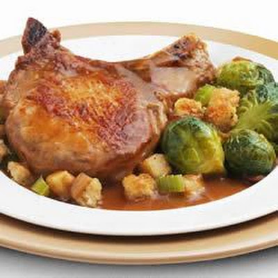 Savory Honey Mustard Pork Chops