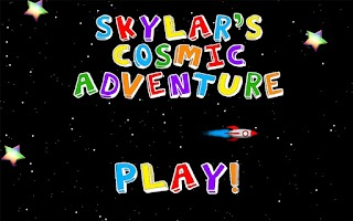 Screenshot of Skylar's Cosmic Adventure