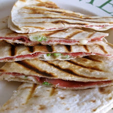 Cured Beef Quesadilla