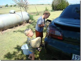 07-29-08 Washing car 010