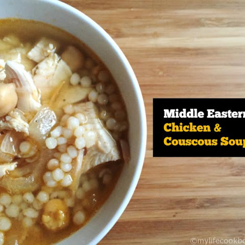 Middle Eastern Chicken & Couscous Soup