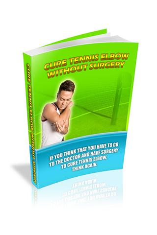 Curing Tennis Elbow
