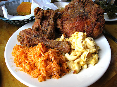Soul food at jestines kitchen charleston sc the best food blog like barbecue meatballs and a number of other family recipes fried chicken is a sacred thing everyone has their favorite whether it be from a local forumfinder Choice Image