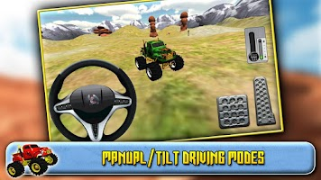 Screenshot of 3D Monster Truck Driving