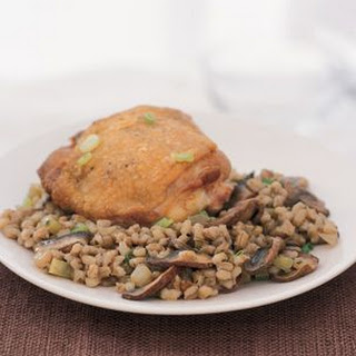 Chicken, Mushroom and Barley Casserole