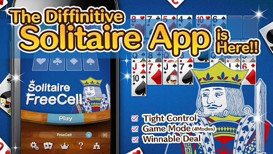 King Solitaire - FreeCell - screenshot