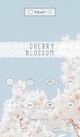 Screenshot of cherry blossom dodol theme