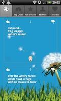 Screenshot of Haiku Wind