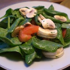 Mixed Greens with Mushrooms