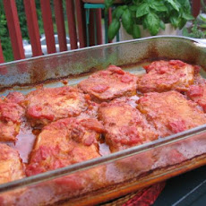 Peachy Piquant Pork Bake - Oven Bake or Barbecue