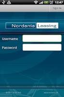 Screenshot of Nordania GPS