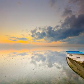 by Wisnu Taranninggrat - Transportation Boats