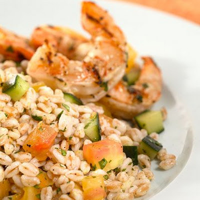 Farro, Herb, and Vegetable Salad