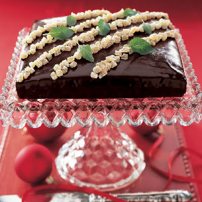 Chocolate-Covered Gingerbread Cake