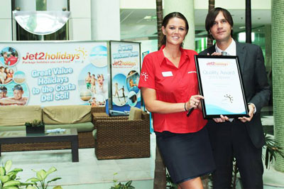 Jet2Holidays Quality Award Prix