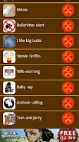 Screenshot of Funny Sounds and Ringtones